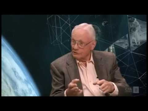 Neil Armstrong talks about edge of the Flat Earth