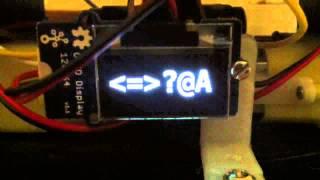 Seeed OLED 32 bit font demo