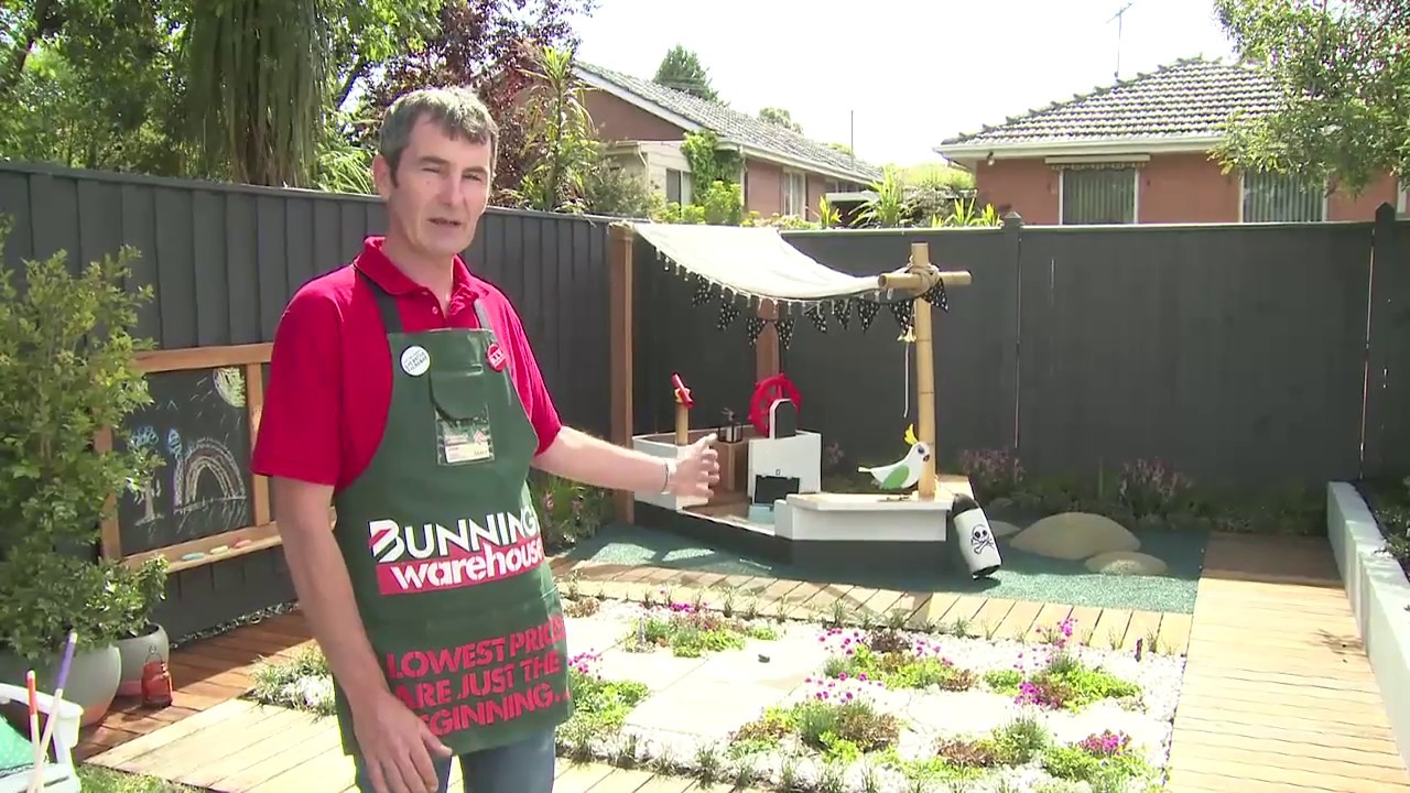 How To Build A D.I.Y. Outdoor Playground - D.I.Y. At Bunnings - How To Build A D.I.Y. Outdoor Playground - D.I.Y. At Bunnings - YouTube
