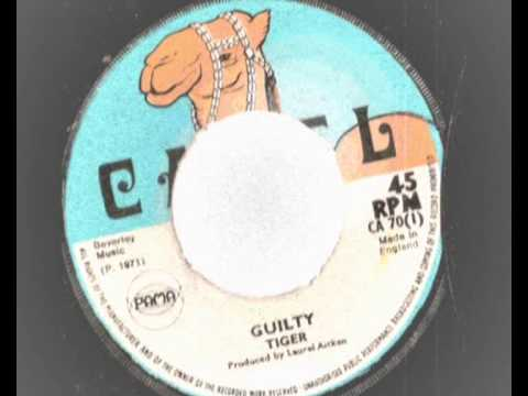 Laurel Aitken & Tiger - Nobody But Me - Guilty  - New Beat -Camel records   - Guilty riddim 1970