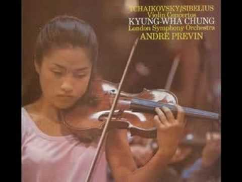 (live) kyung wha chung Tchaikovsky violin concerto 1-1 audio
