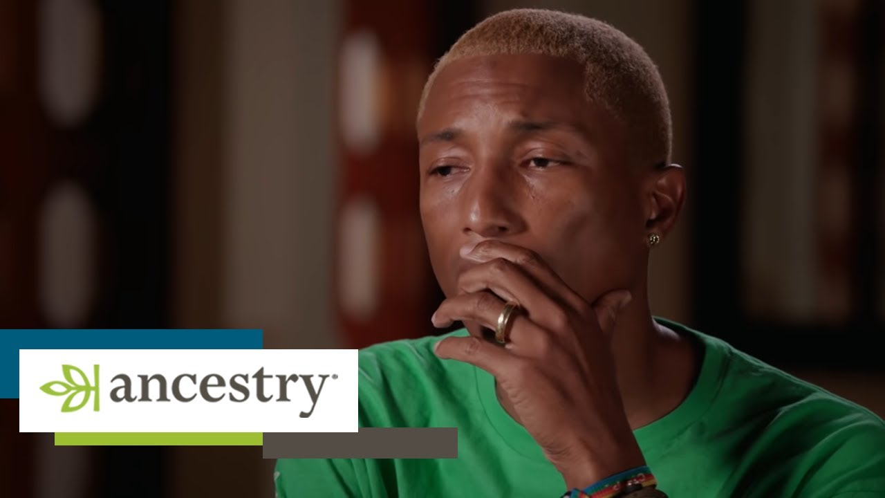 Download Pharrell Reacts to Family History in Finding Your Roots | Ancestry