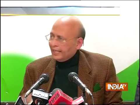 Jayathi Natarajan Resign: Congress Addresses Press Conference - India TV