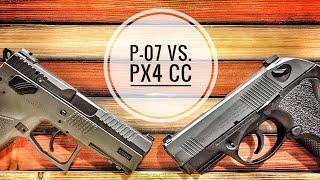 CZ P-07 vs. Beretta PX4 Storm Compact Carry: CCW perfection?