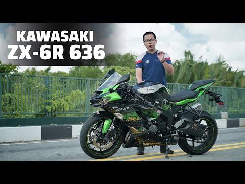 TRÊN TAY Kawasaki Ninja ZX-6R | Chiếc sportbike 600cc có giá 500 triệu đồng