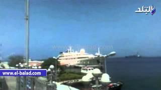 بالفيديو والصور.. لحظة دخول يخت 'الوليد بن طلال' ميناء بورسعيد للمشاركة في حفل افتتاح قناة السويس