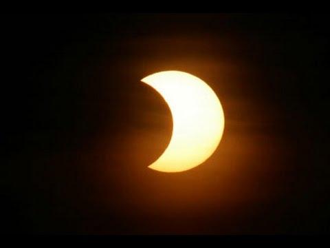 Transmissão ao vivo: Eclipse Solar Parcial - 26 de fevereiro