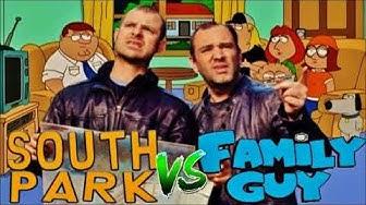 Why Matt & Trey dislike Family Guy (compilation)