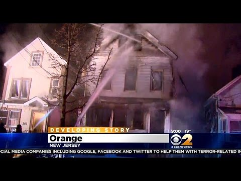 2 Children Killed In Fire At Orange, NJ Home