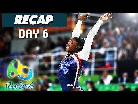 Rio Olympics 2016 Results, Highlights, Simone Biles (Day 6 Recap - August 11, 2016)