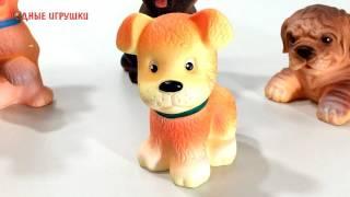 Резиновая игрушка щенок Малыш   Артикул С 351