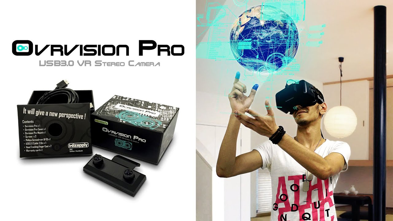 0b6cd44149a Ovrvision Pro PV! - YouTube