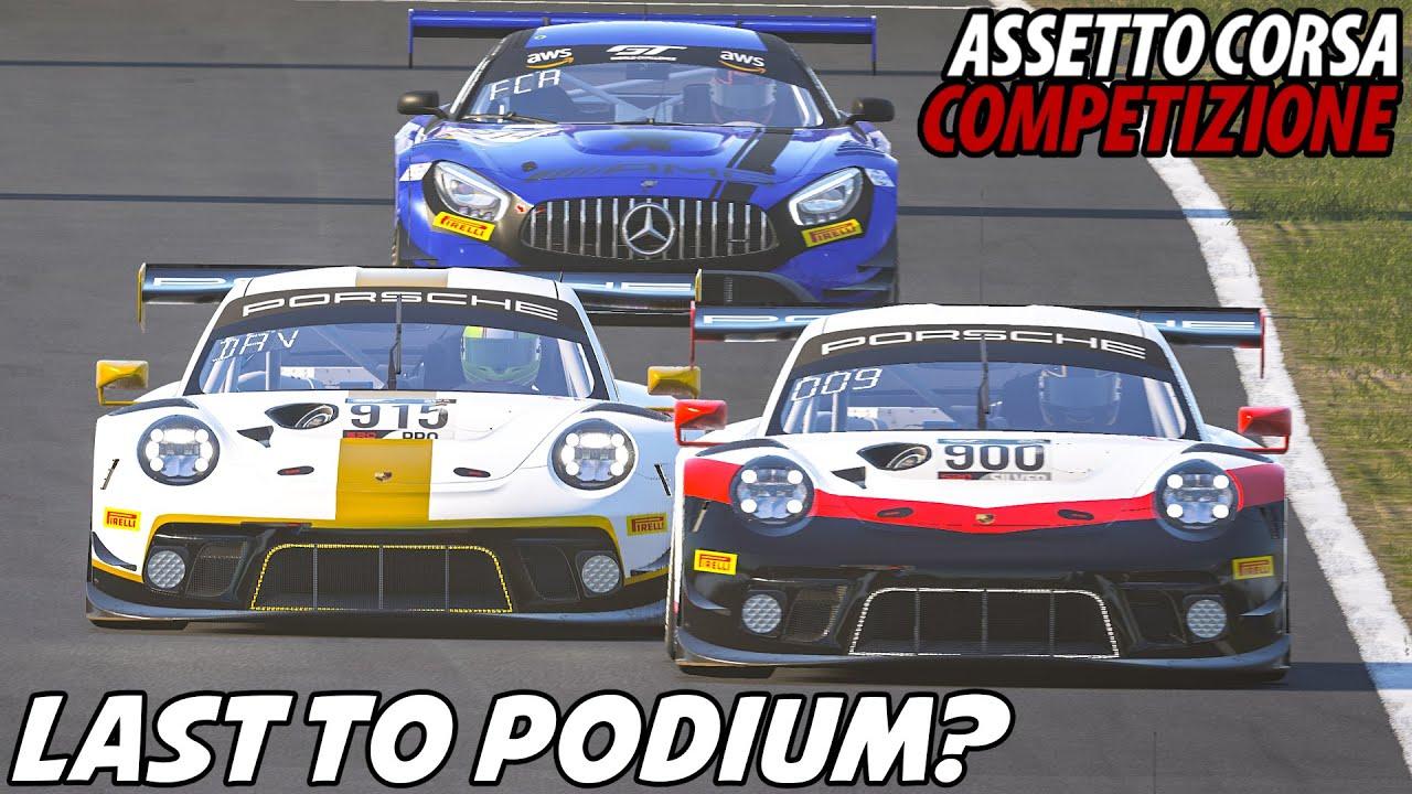 Porsche 911 II GT3 R @ Suzuka   ACC Competition Rennen #8   Assetto Corsa Competizione