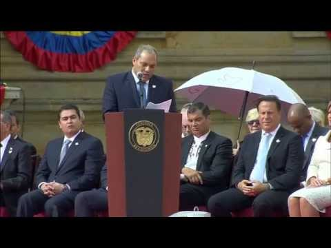 Posesión Presidente de Colombia 2014-2018