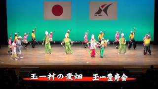 成田市高齢者クラブ連合会、芸能発表の様子です.