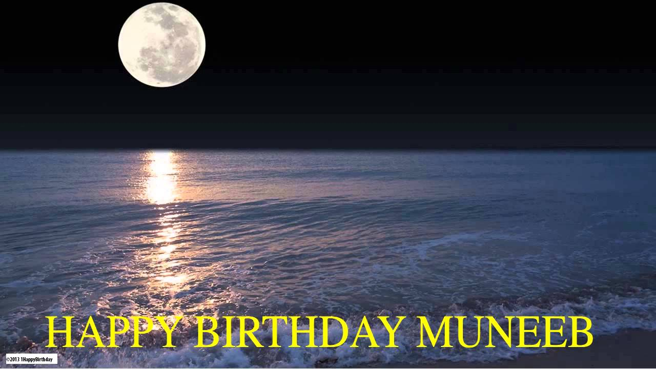 muneeb moon la luna happy birthday