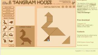 """""""Tangram"""" - The Oldest Chinese Puzzle"""