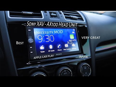 Subaru WRX Sony XAV-AX100 (Every Subaru NEEDS this!)