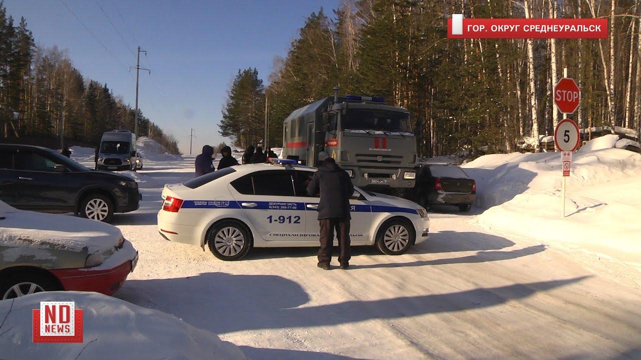 ОМОН заблокировал въезд в Среднеуральский монастырь