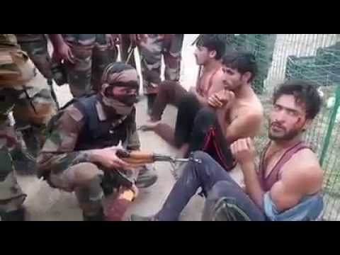 Indian Army Classroom.. interview of stone pelters in kashmir... Must Watch