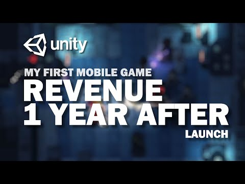 My First Mobile Game Revenue - 1 Year After Launch