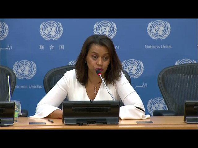 Elayne Whyte Gómez on the Treaty on Prohibition of Nuclear Weapons - Press Conference (7 July 2017)