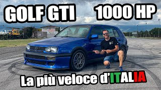 1000HP GOLF GTI !!! THE FASTEST GOLF IN ITALY !!!