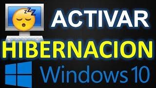 ▶ ¿COMO ACTIVAR LA HIBERNACION EN WINDOWS 10? - ARTUROMEZDA