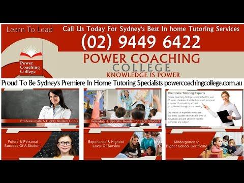 Maths Tutor Sydney Power Coaching College Tutoring Sydney