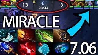 Impossible Comeback By Miracle Tinker 7.06 Gameplay Team Liquid Dota 2