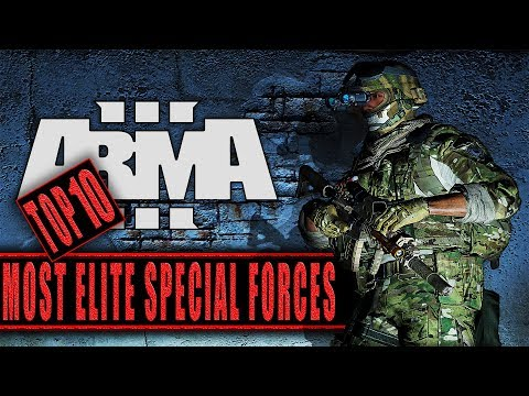ARMA3 | TOP 10 SPECIAL FORCES | OUTFITS LOADOUTS [1440p60 Quality]