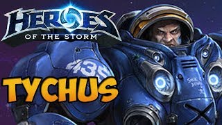 Heroes of the Storm Gameplay Commentary - Tychus