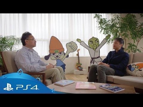 PaRappa the Rapper | Masaya Matsuura and Shuhei Yoshida Interview | PS4