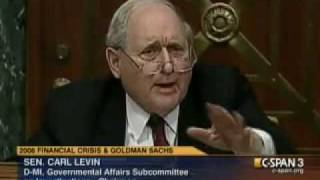 Senator Carl Levin's Shitty Comments