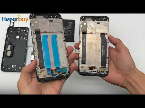 Trocando Tela Xiaomi Mi A1 - 5x