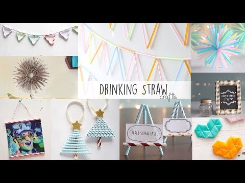 DIY Projects With Drinking Straws