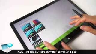 ACER Aspire R7, refresh with Intel Haswell and Active Pen