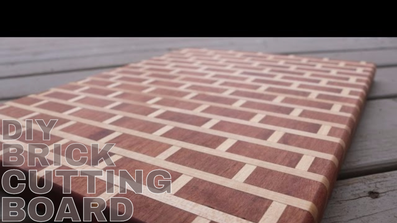Brick Cement Board : Brick mortar cutting board diy youtube