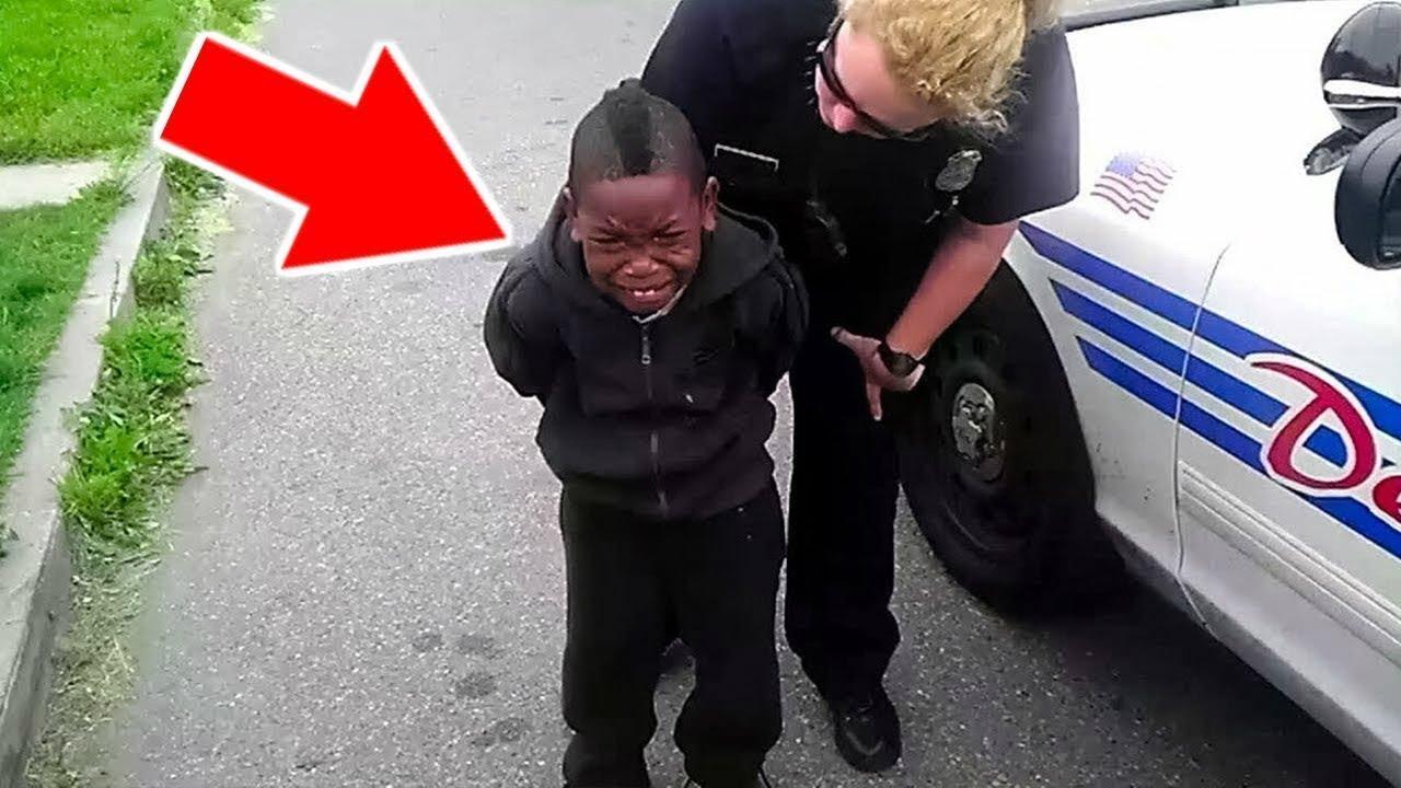 7 Niños Atrapados Robando Autos