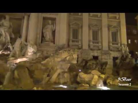 เที่ยวอิตาลี โรม Italy Part 1 (Colosseum, Trevi fountain)