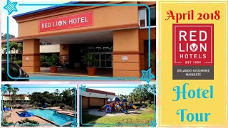 Red Lion hotel Orlando Kissimmee Maingate tour | April 2018