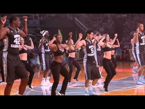 UNC Basketball: Final Team Dance in Black Jerseys at Late Night