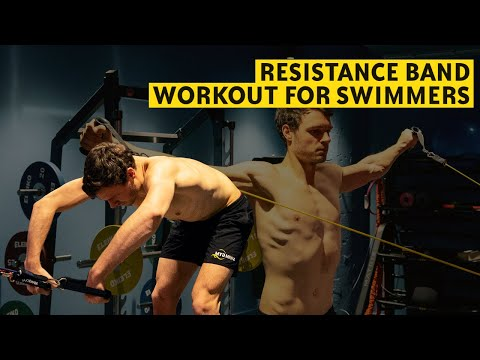 12 Exercises to Build Swim Strength and Stability (resistance band)