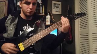 upon a burning body b m f guitar cover with solo