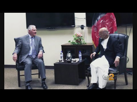 Tillerson Makes Unannounced Visit To Afghanistan