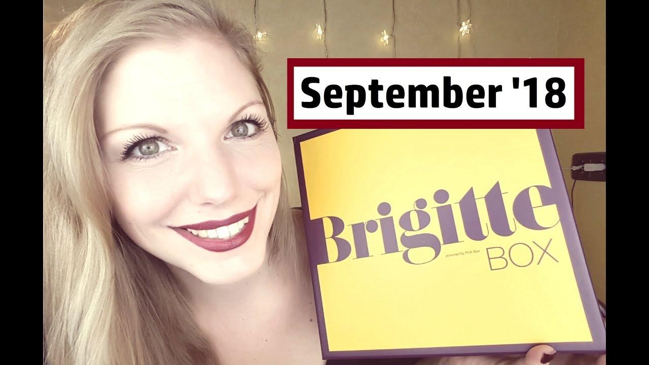 f6aa6fcc0c Brigitte Box Nr. 5 | September 2018 | Wertvoller Inhalt - YouTube