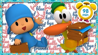 🆒 POCOYO in ENGLISH - Kids Vocabulary [ 98 minutes ] | Full Episodes | VIDEOS and CARTOONS for KIDS
