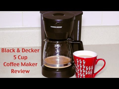 Decker Coffee Maker Black And Decker Coffee Maker Review – Dcm600w 5-cup Drip Coffeemaker Unboxing The Black And Decker Coffee Maker