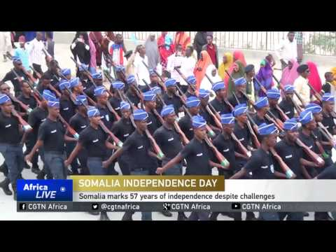 Somalia marks 57 years of independence despite challenges