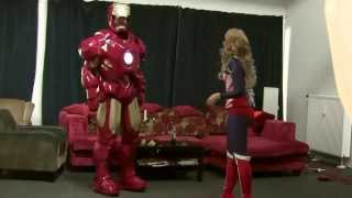 Transforming into Iron Man ; Cosplay MK4 ; 2014